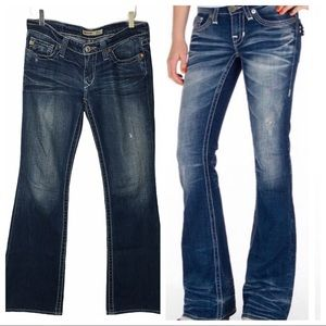 Big Star Y2K Low Rise Sweet Boot Flare 29 Long Tal